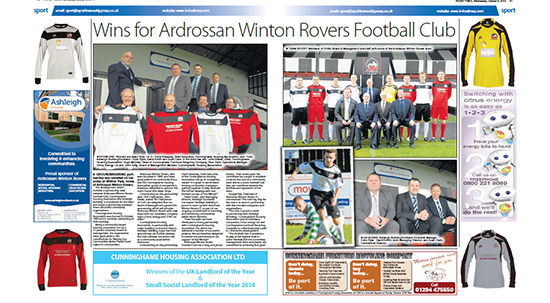 Ardrossan Winton Rovers Football Team