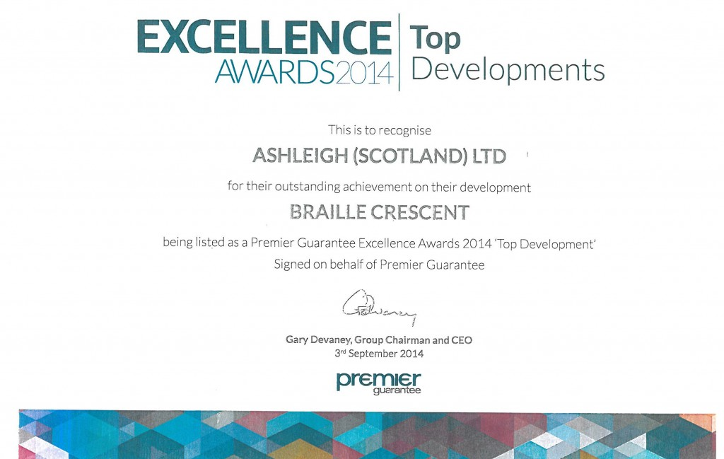07 Excellence Award Braille Crescent