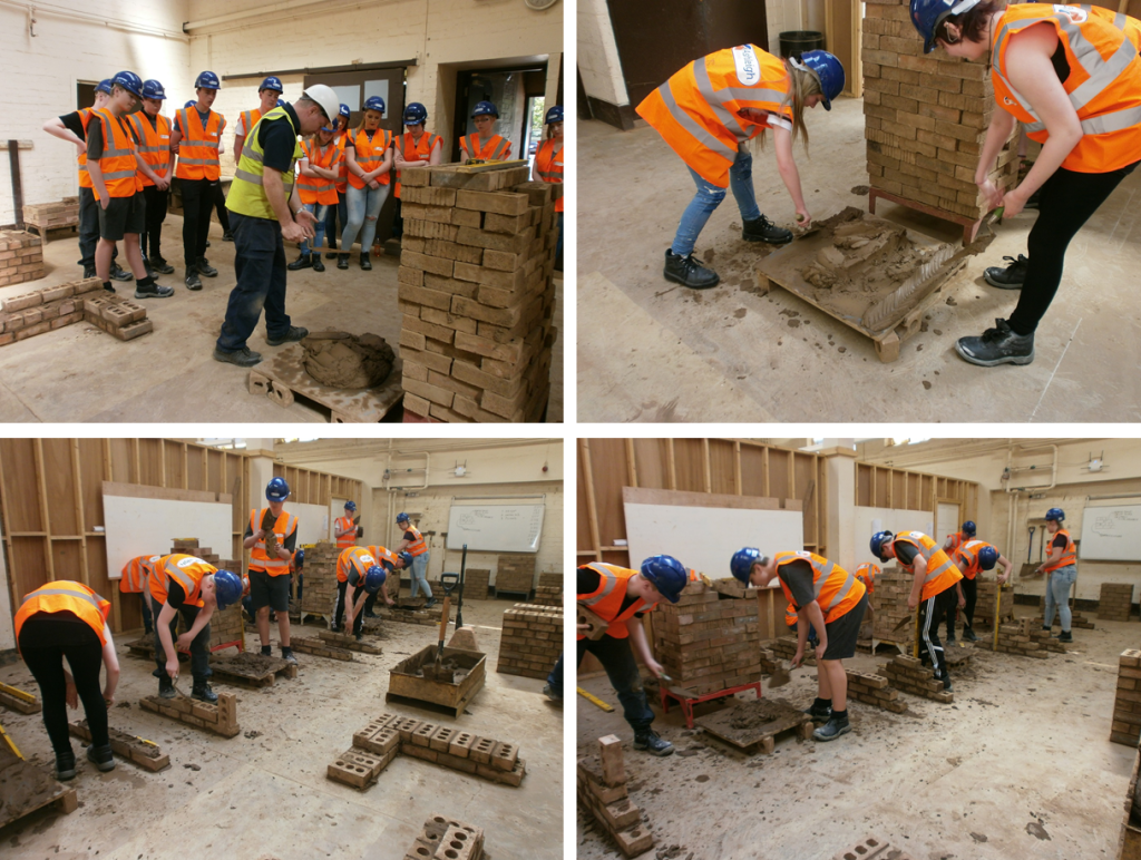 Bricklaying Lesson