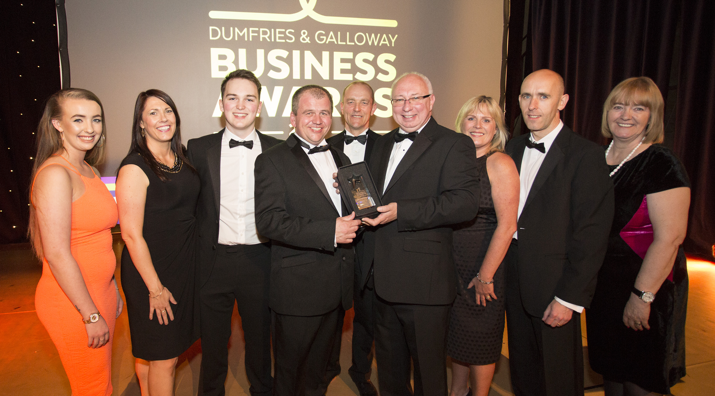 Dumfries and Galloway Business Award for Outstanding Performing Business 2016